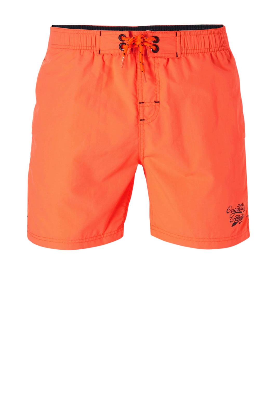 Cars zwemshort met zakken oranje, Oranje