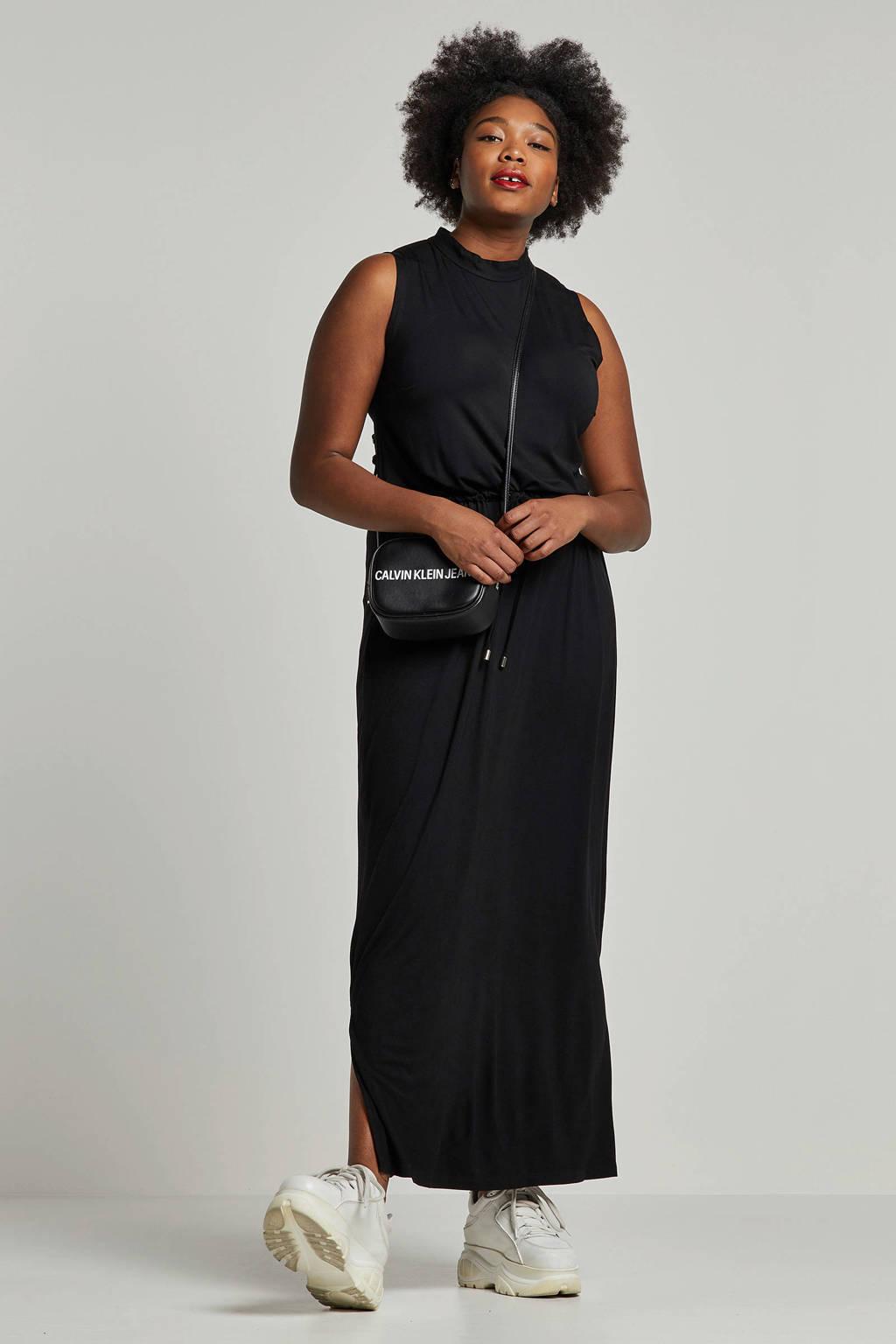 whkmp's great looks maxi jurk, Zwart