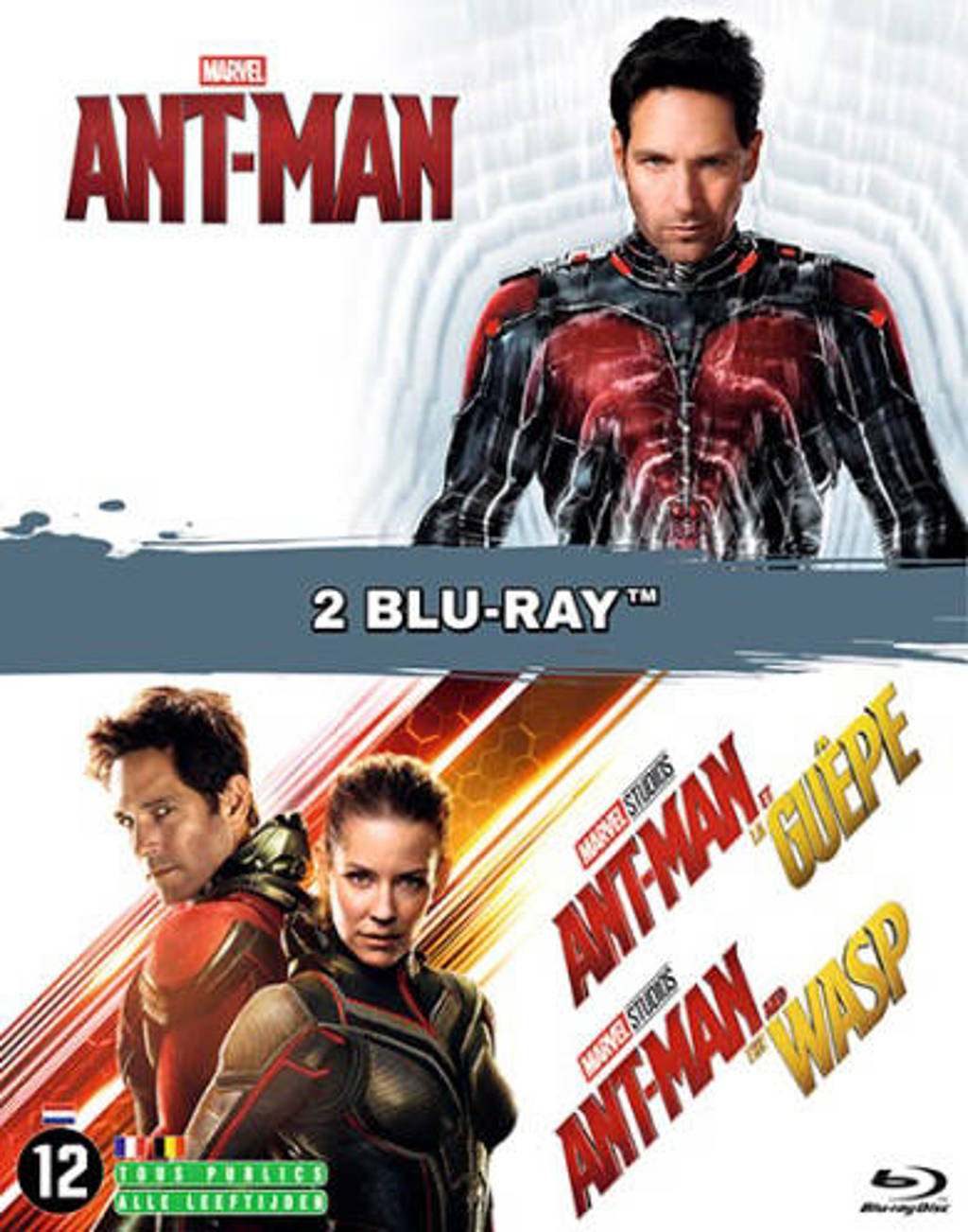 Ant man + Ant man & the Wasp (Blu-ray)