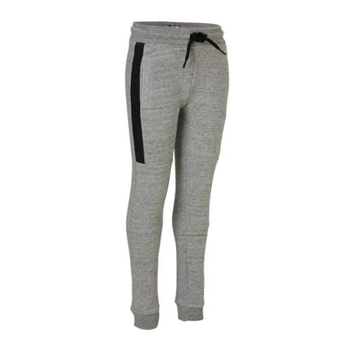 gemêleerde sweatpants grijs