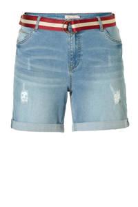 whkmp's great looks jeans short stonewashed blauw, Stonewashed blauw