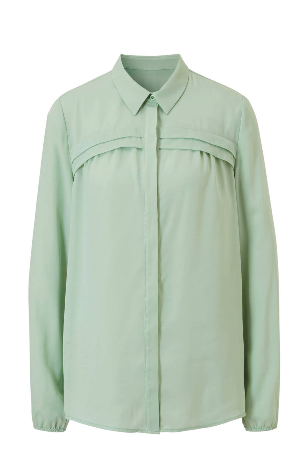 whkmp's own gerecycled polyester blouse (Waste2Wear), Lichtgroen