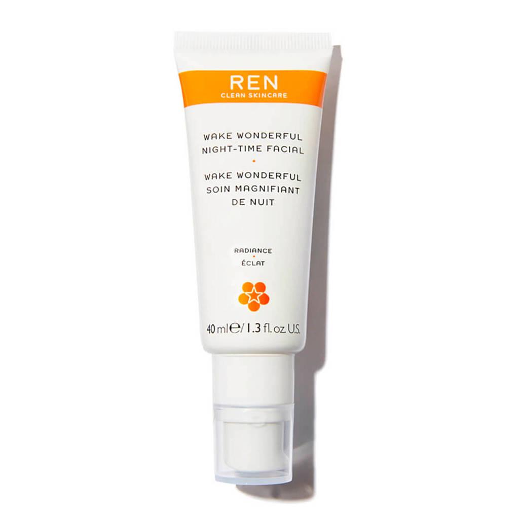 REN Skincare Wake Wonderful Facial nachtcrème - 40 ml