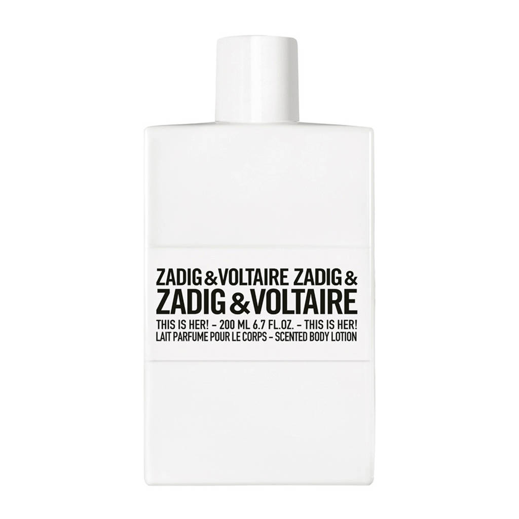 Zadig & Voltaire This is Her! bodylotion