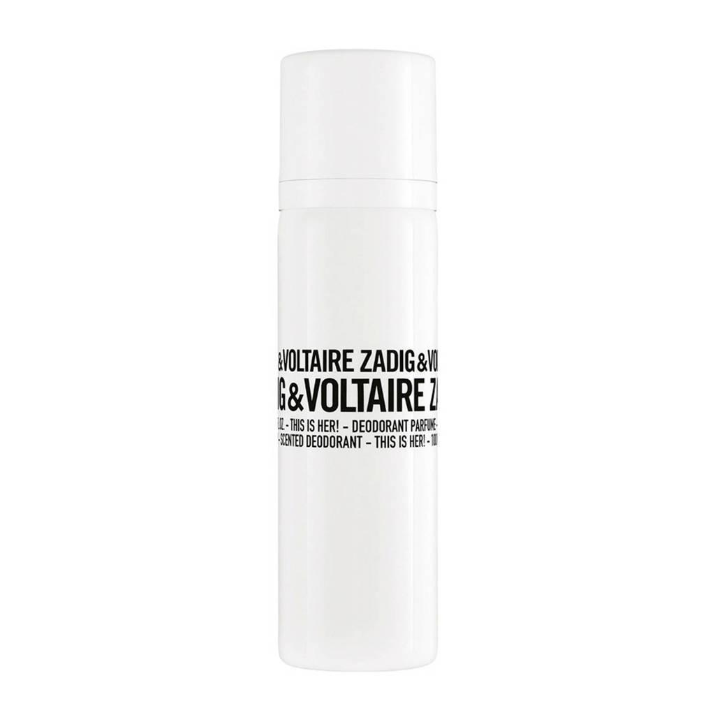 Zadig & Voltaire This Is Her Scented deodorant