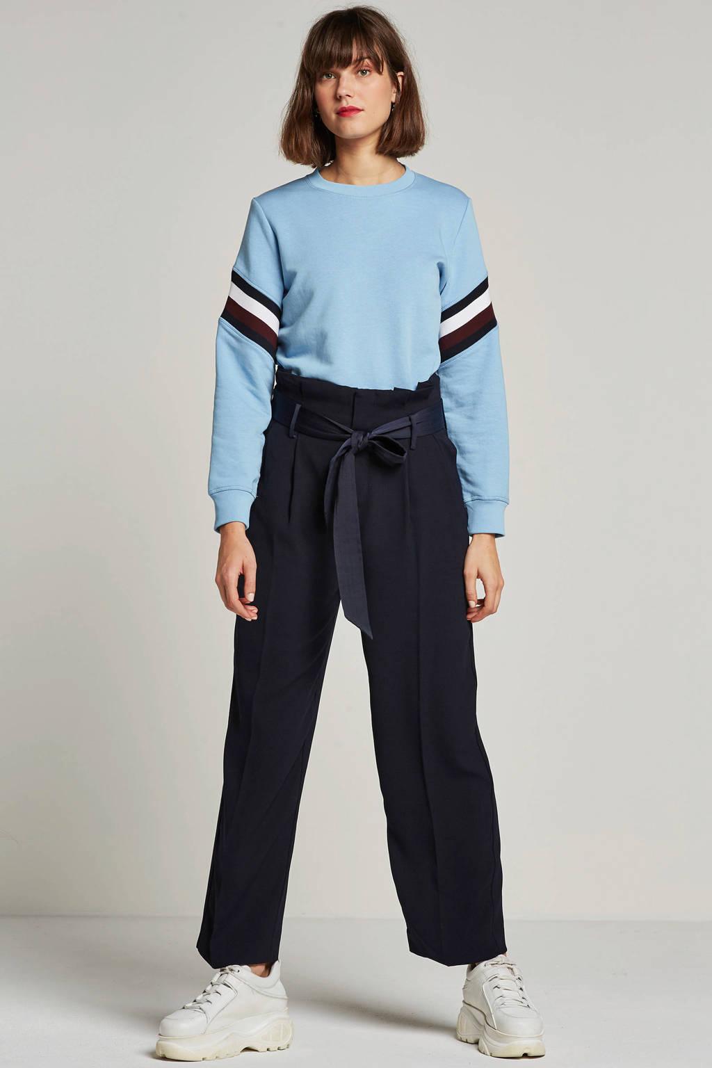 Tommy Hilfiger sweater Julie, Lichtblauw