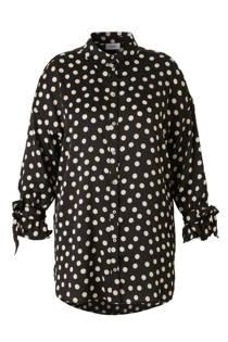 C&A XL Yessica tuniekblouse met stippen zwart (dames)