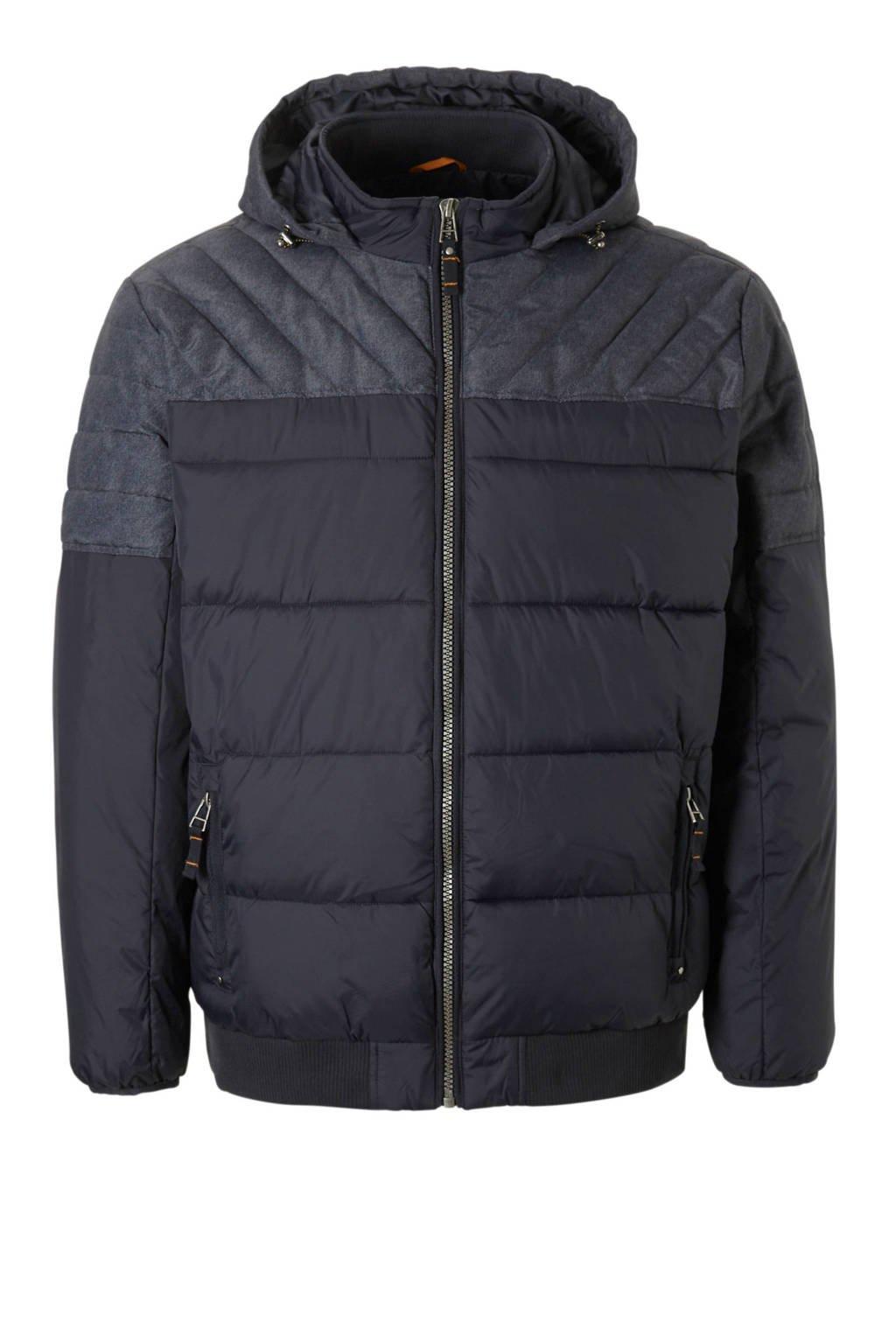 C&A XL Canda winterjas donkerblauw, Donkerblauw