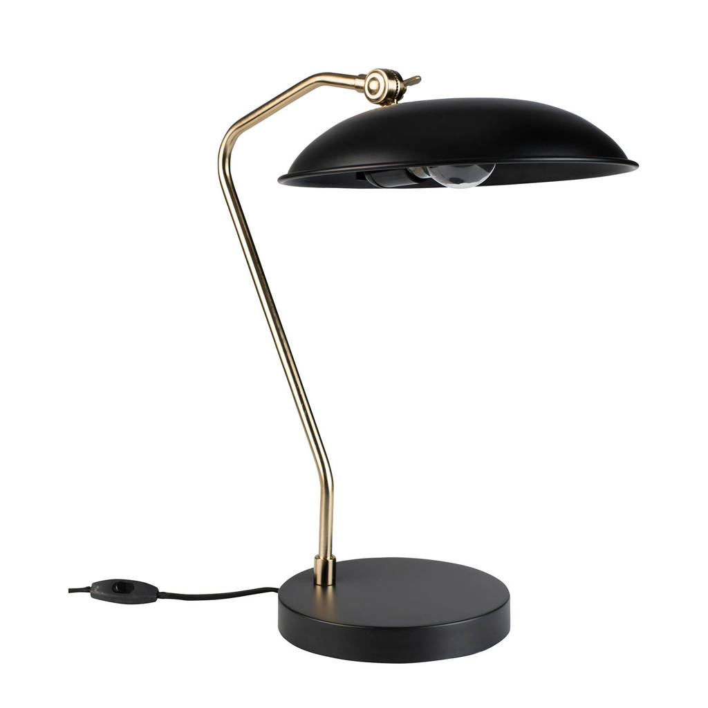Dutchbone Bureaulamp Liam, Zwart