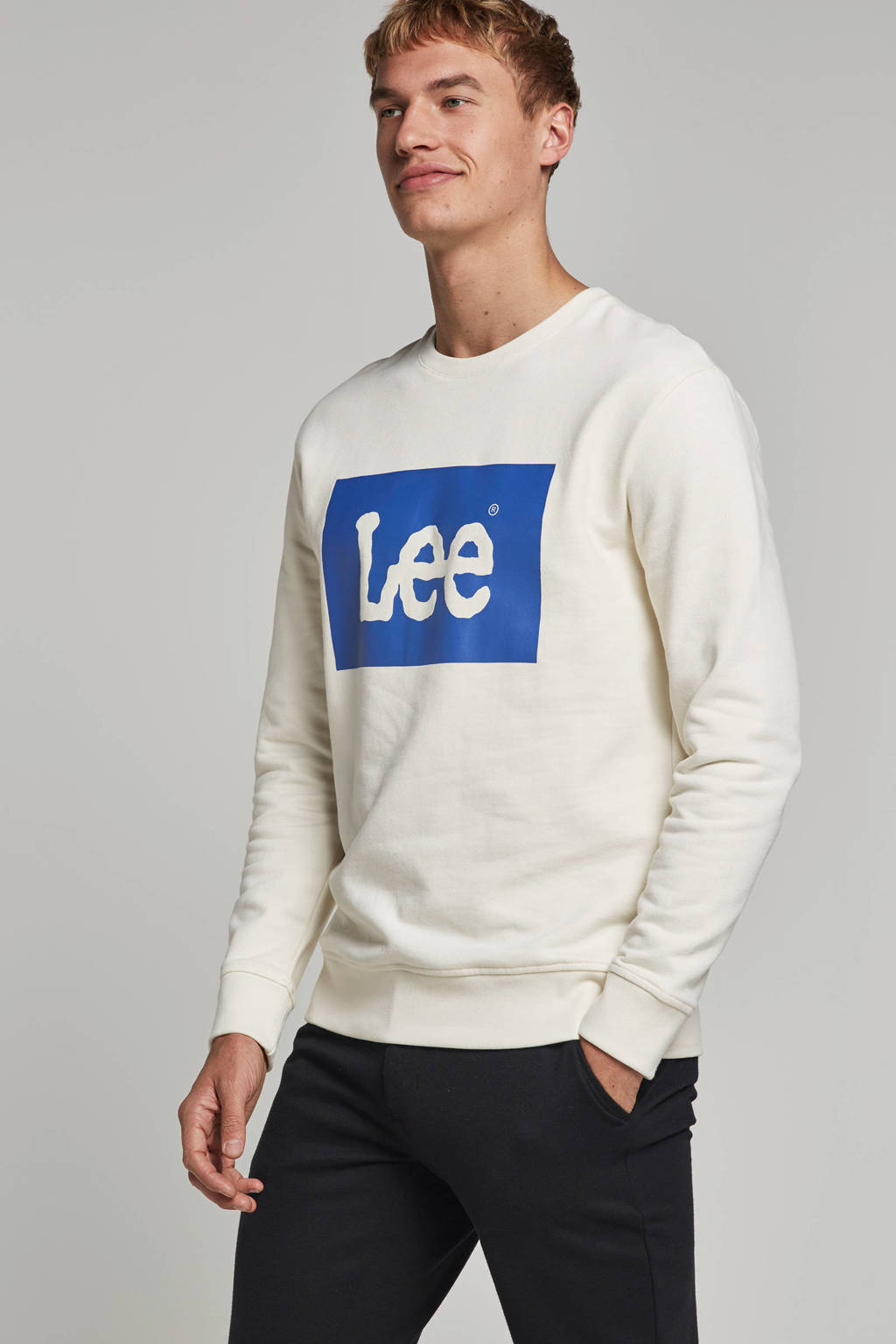 Lee sweater, Ecru