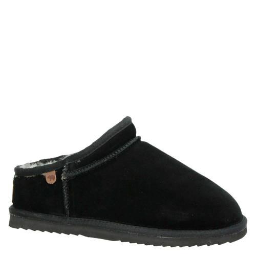 Warmbat Australia su????de pantoffels zwart