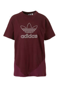adidas / adidas originals T-shirt bordeauxrood