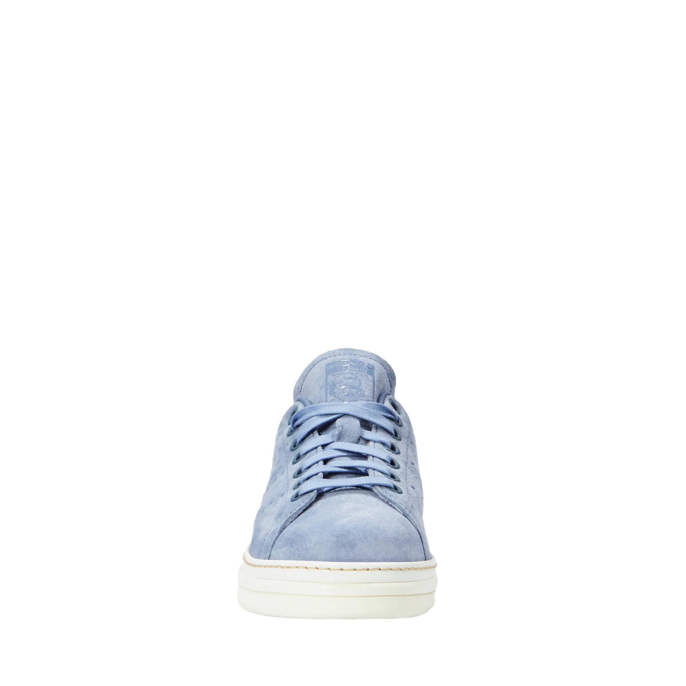 adidas schoenen suede lichtblauw