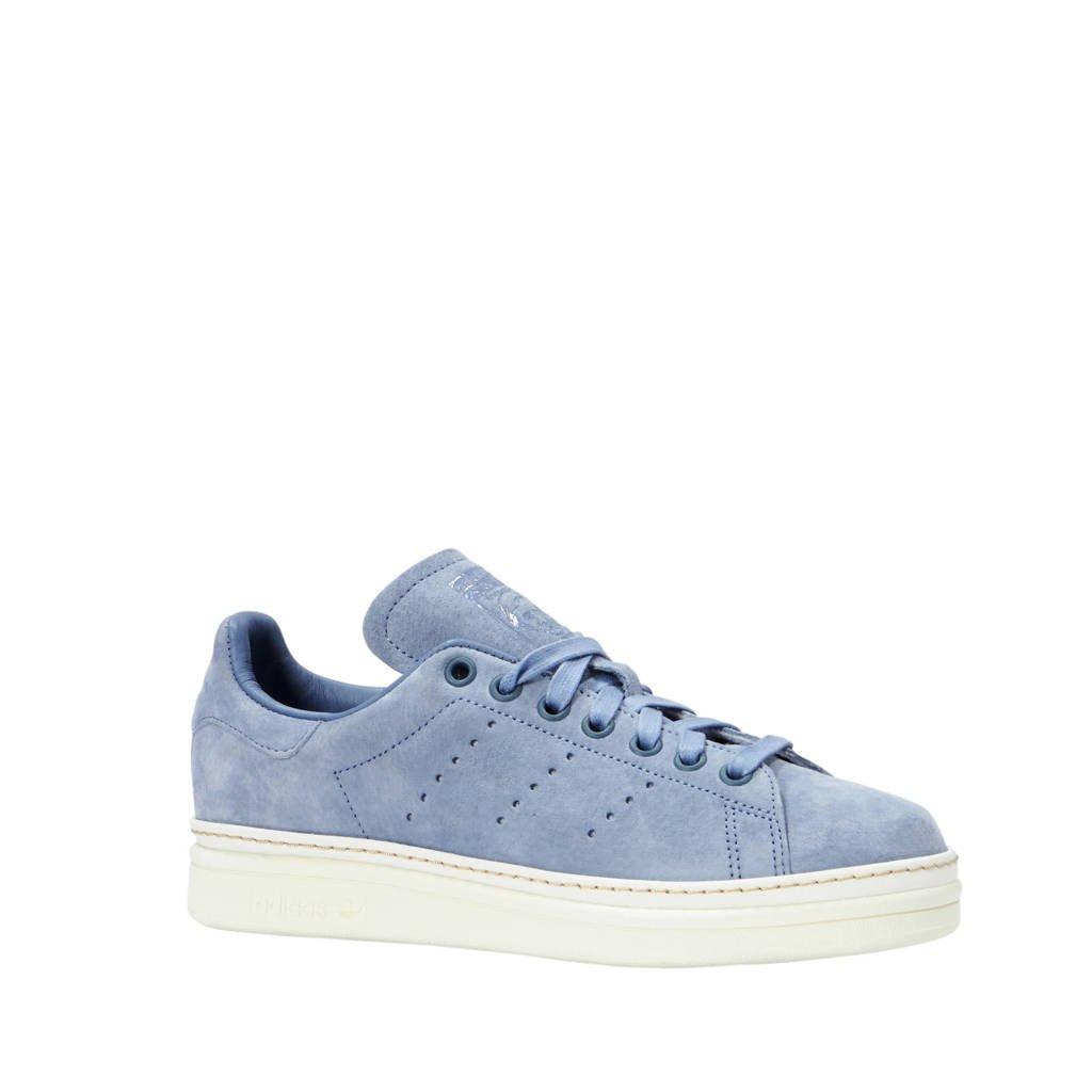 adidas originals  Stan Smith New Bold suède sneakers lichtblauw, Lichtblauw