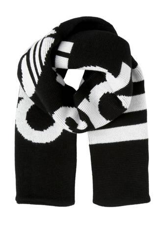 originals gebreide sjaal zwart