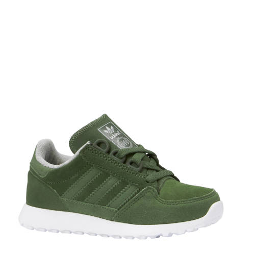 Forest Grove CF I suède sneakers groen