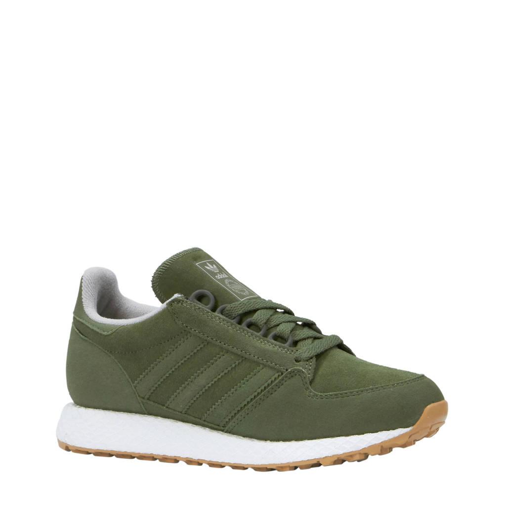 dca1ca314ce adidas originals Forest Grove C suède sneakers legergroen, Legergroen