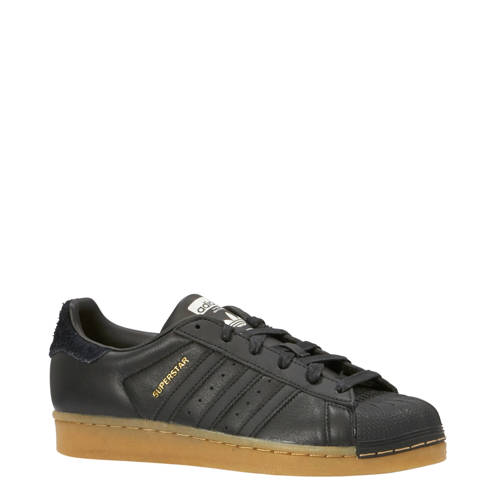 Superstar sneakers zwart
