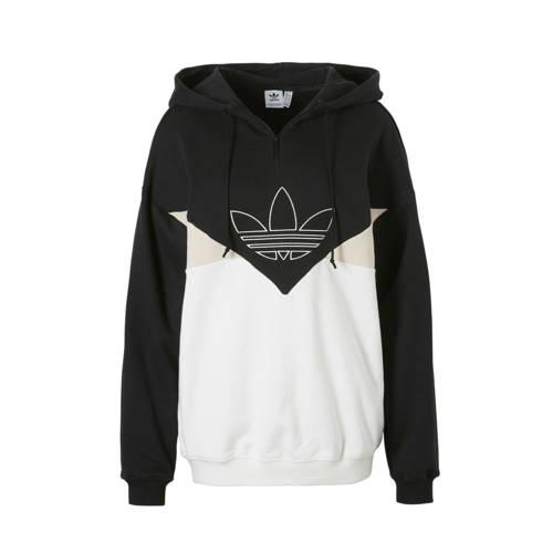 oversized hoodie zwart