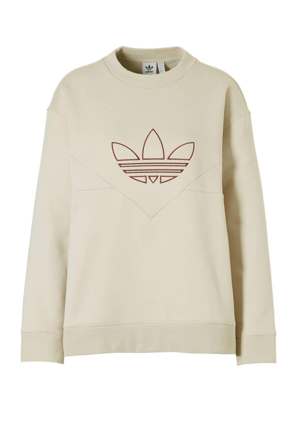 adidas originals sweater beige, Beige