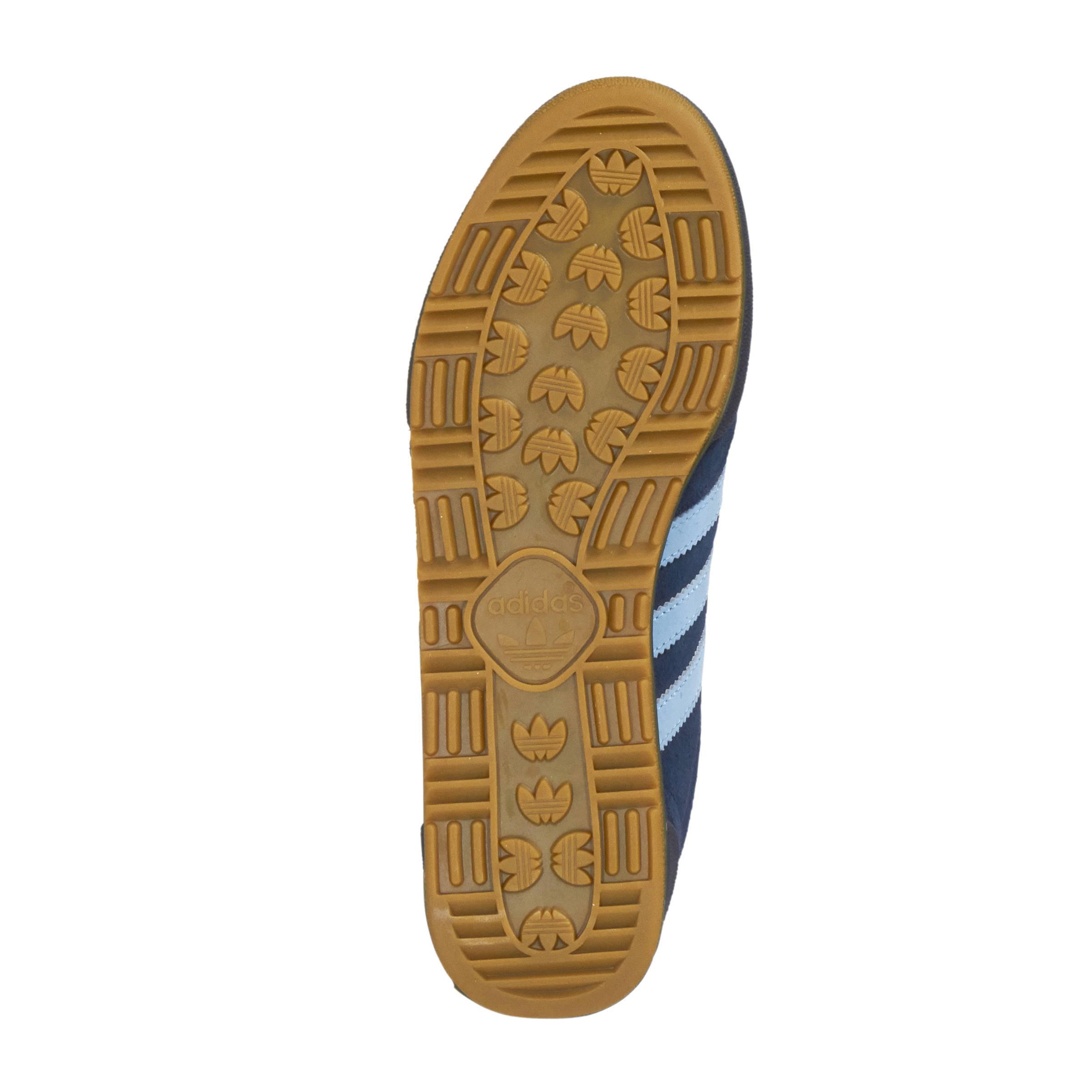adidas Originals Jeans suède sneakers marine | wehkamp