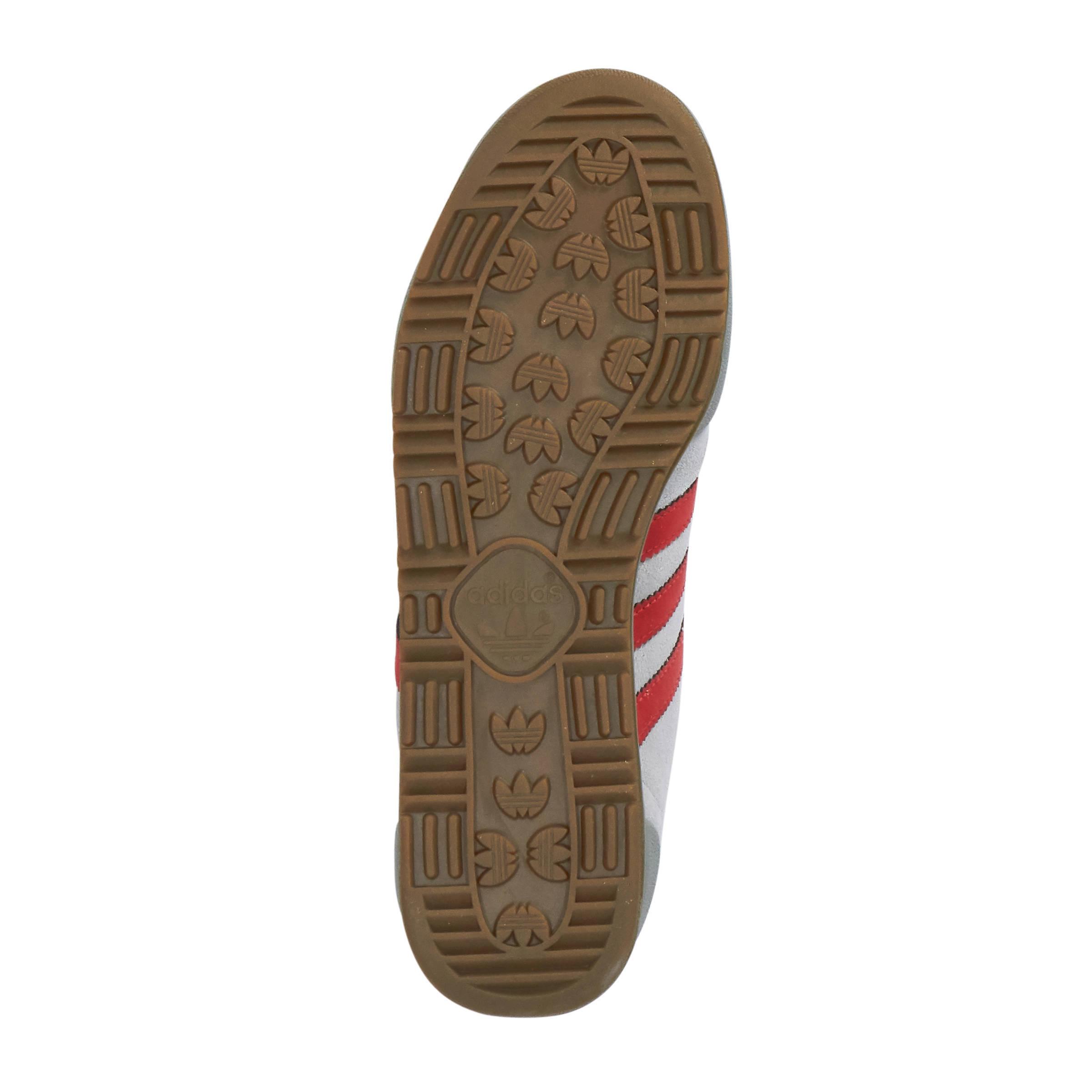 adidas Originals Jeans suède sneakers lichtgrijs | wehkamp