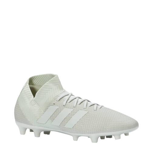 Nemeziz 18.3 FG voetbalschoenen grijsgroen