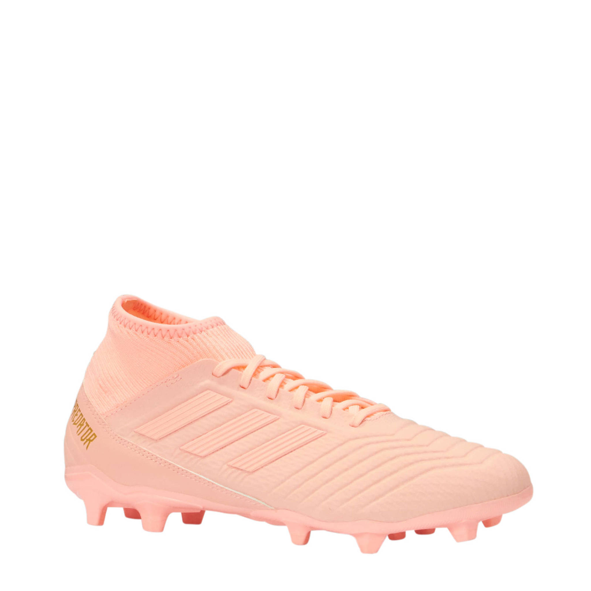 check out 49799 7ef1f adidas performance Predator 18.3 FG voetbalschoenen roze  we