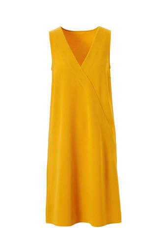 jurk met V-hals