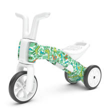 Bunzi 2-in-1 loopfiets giraffiti