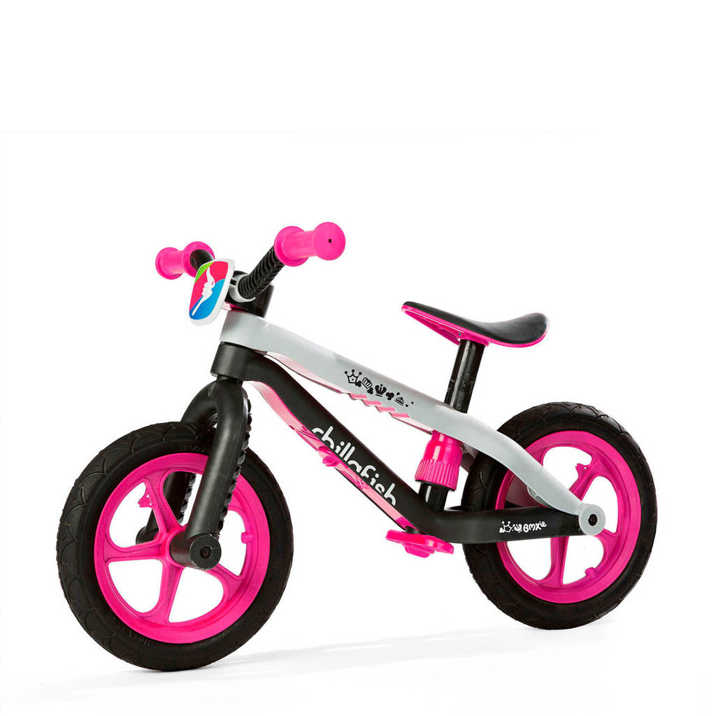 Chillafish BMXie RS loopfiets roze, Roze
