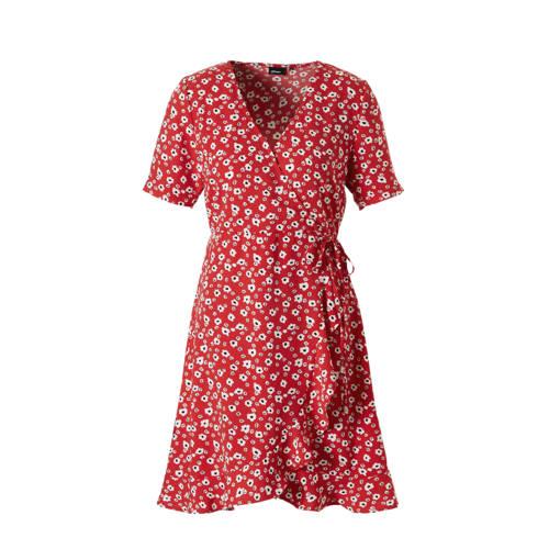 whkmp's own wikkel look jurk met bloemenprint