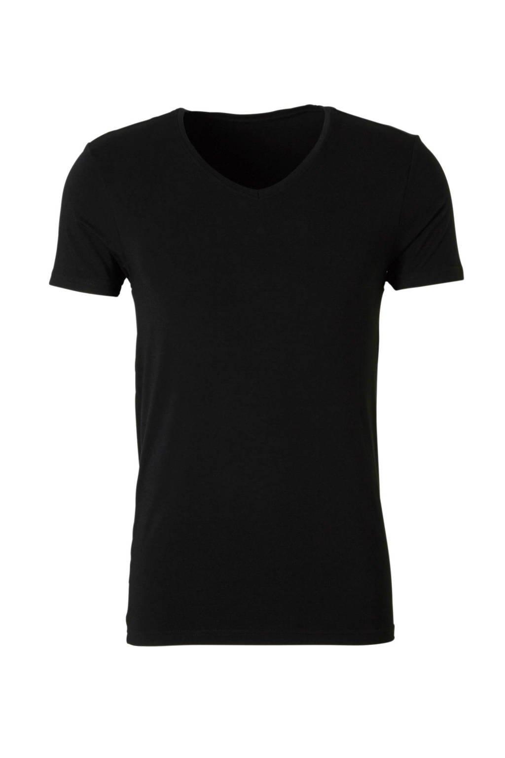 ten Cate bamboe T-shirt zwart, Zwart