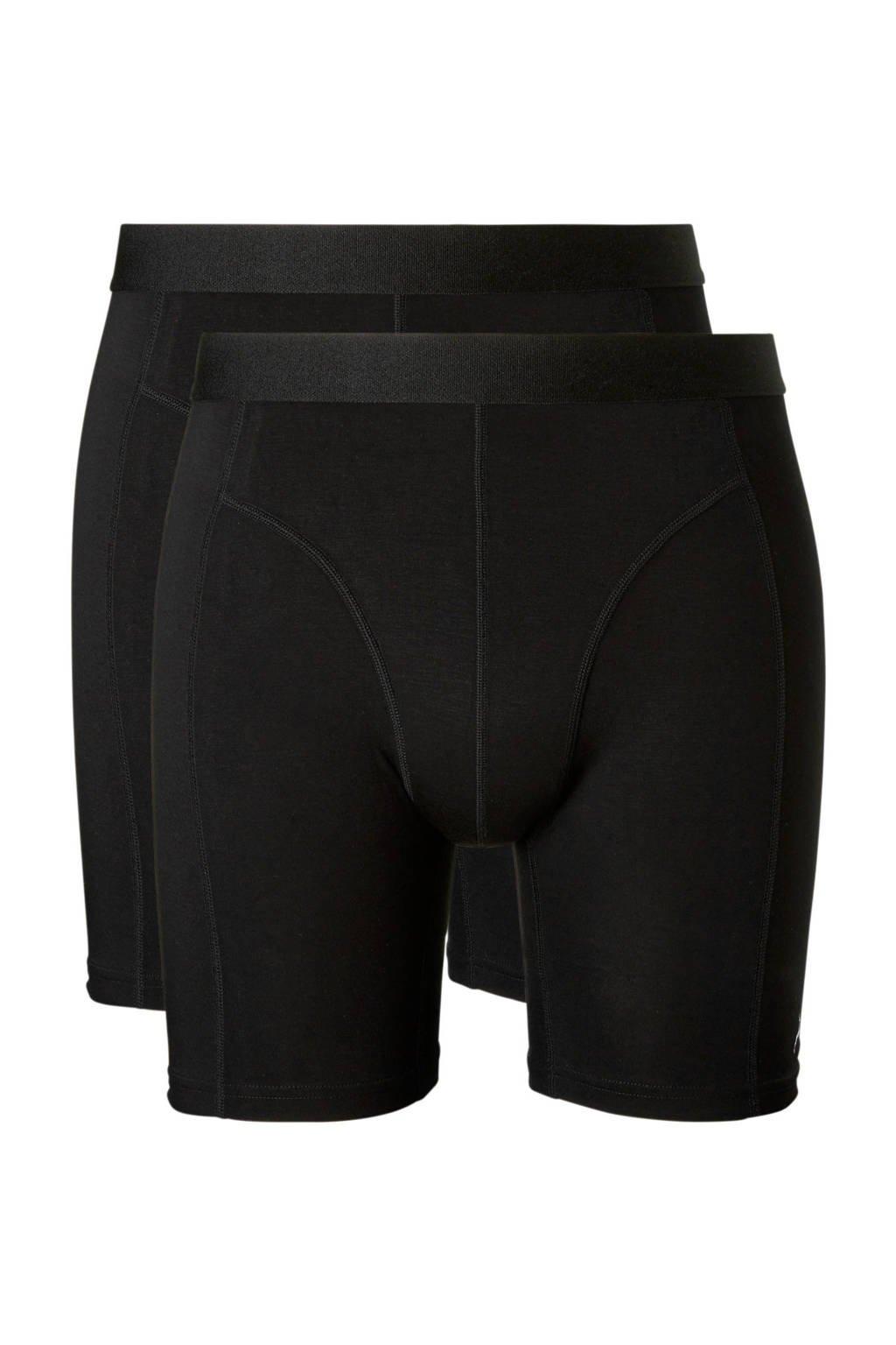 ten Cate bamboe boxershort (set van 2), Zwart