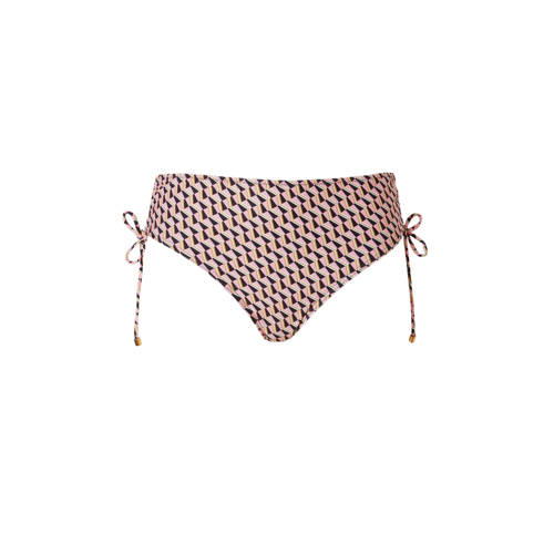 Cyell high waist bikinibroekje met all-over print roze kopen