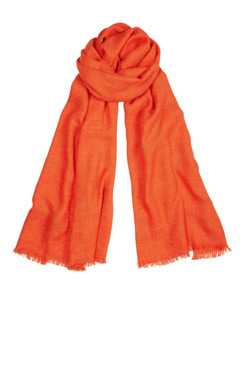 Super korting goedkoopste outlet te koop sjaal oranje