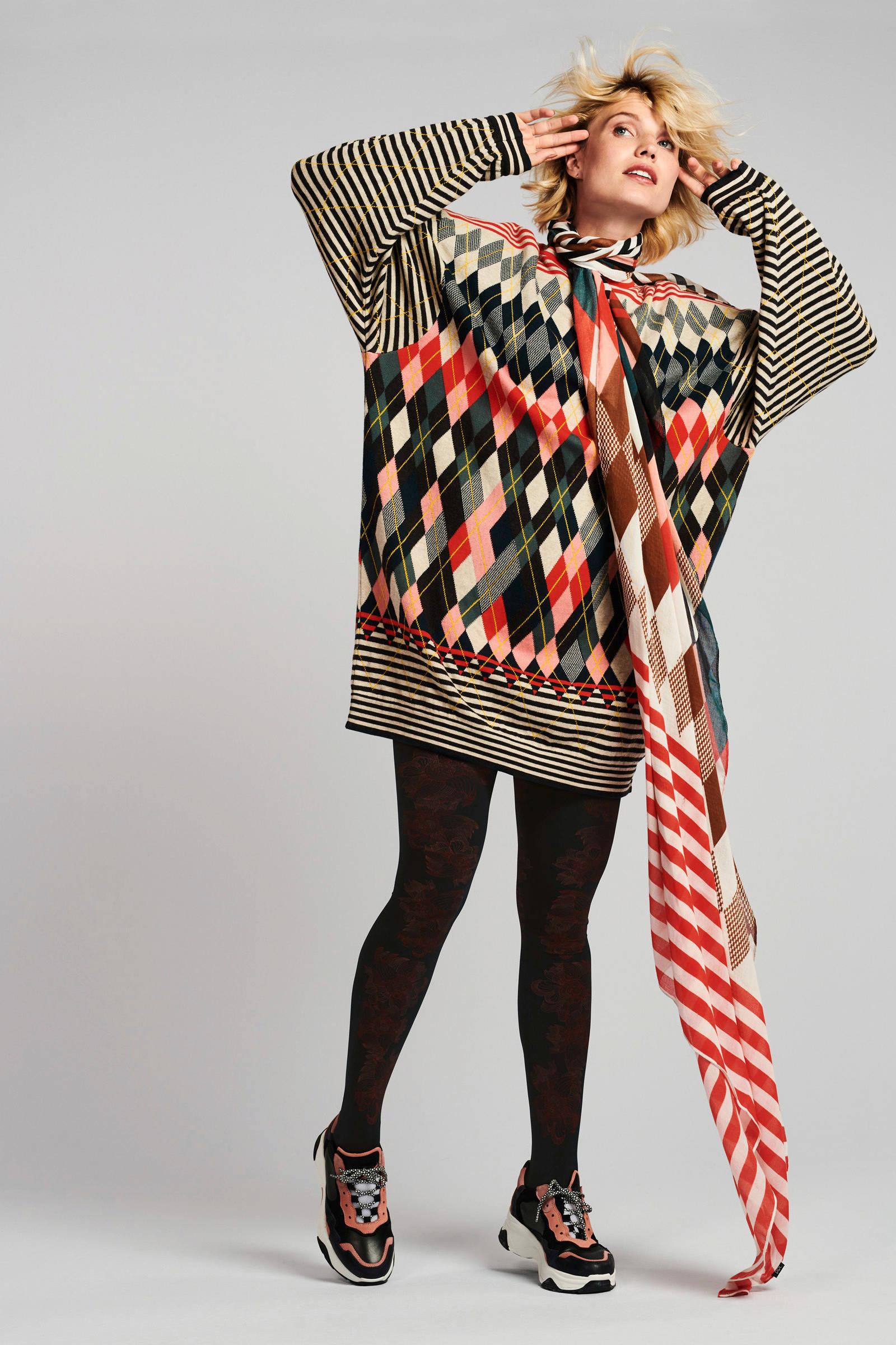 Didi oversized trui zwart | wehkamp