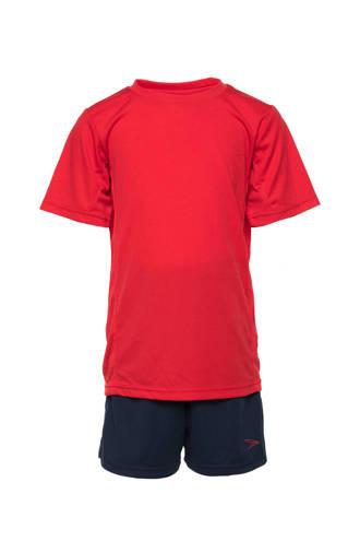 Dutchy   sportset rood/donkerblauw