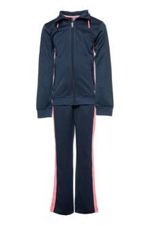 Osaga trainingspak donkerblauw/roze