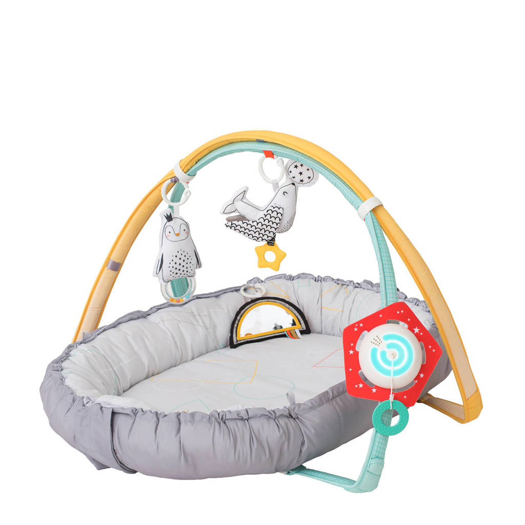 Taf Toys licht en geluid babynest, Lichtgrijs
