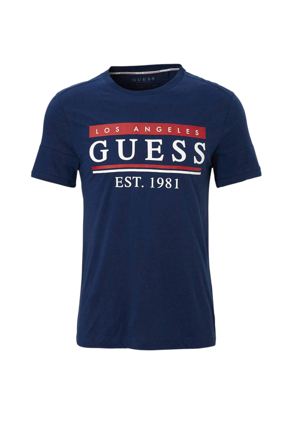 GUESS T-shirt, Donkerblauw