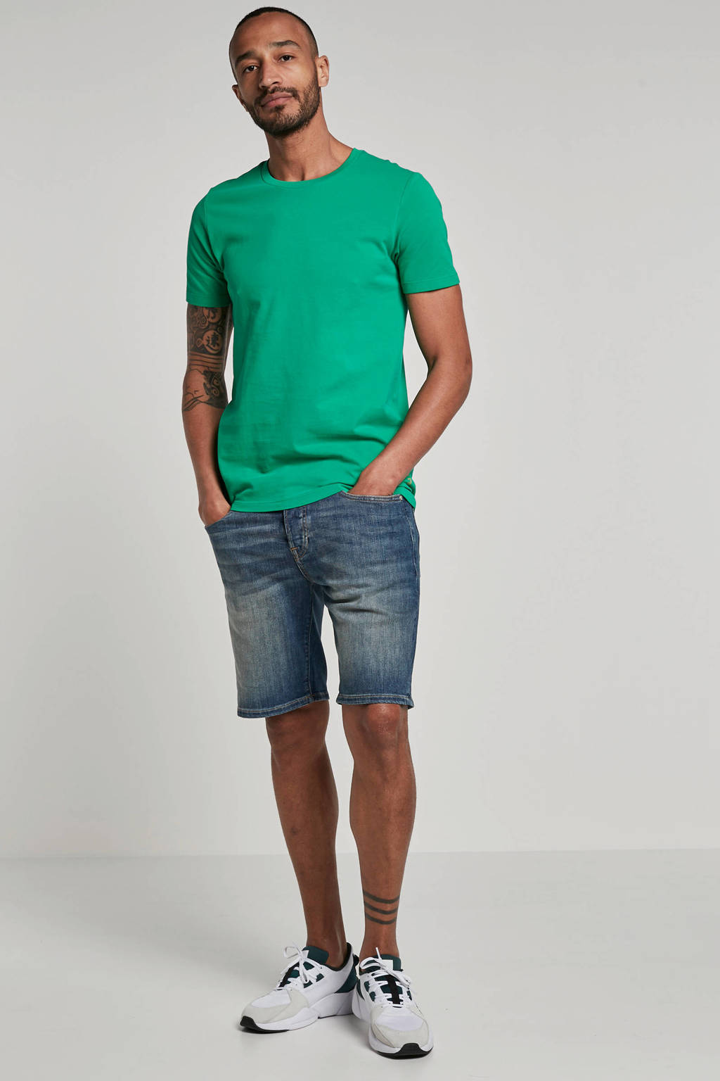 Scotch & Soda regular fit jeans short Ralston, Light denim