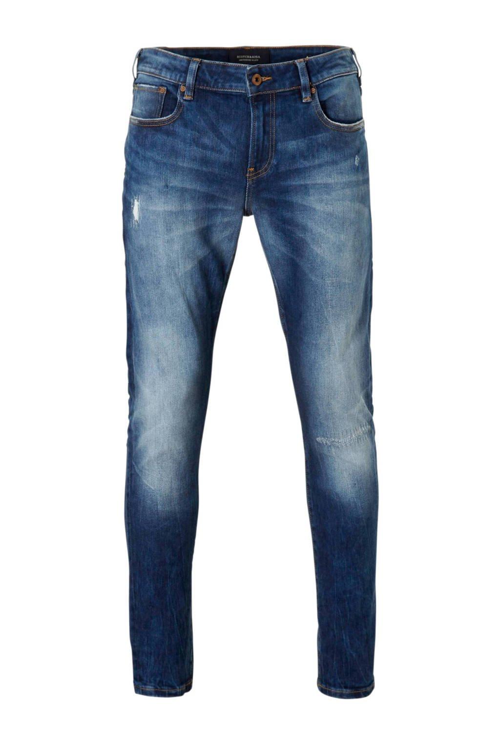 Scotch & Soda skinny fit jeans Skim, Blauw