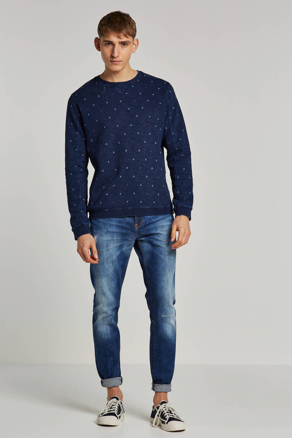 Scotch & Soda sweater, Donkerblauw