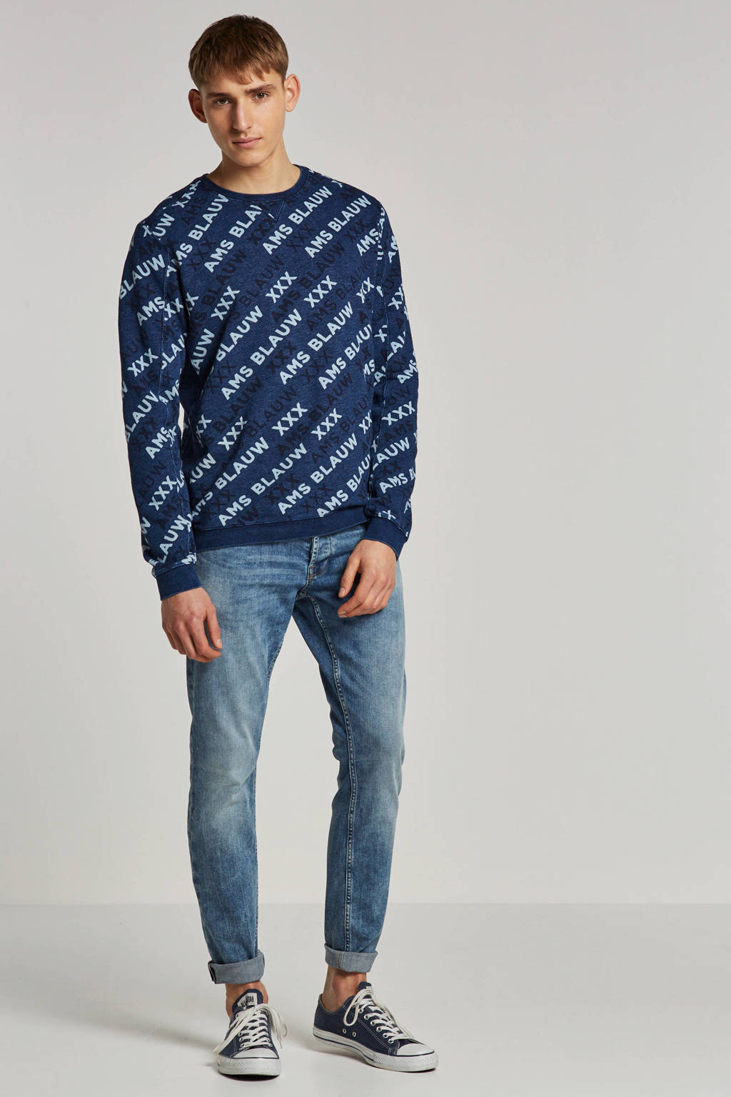 Scotch & Soda sweater, Donkerblauw