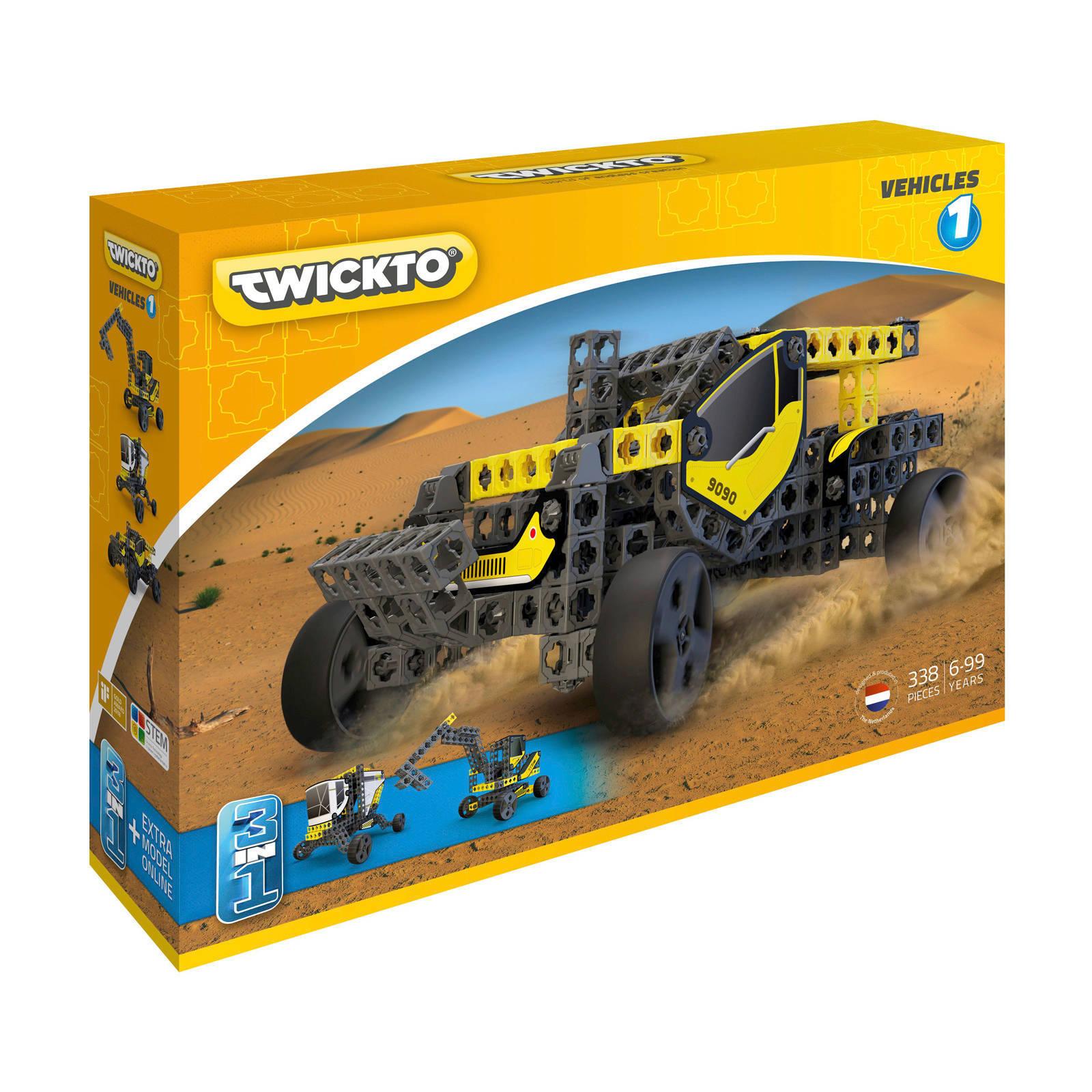 Twickto  Vehicles #1 338-delig