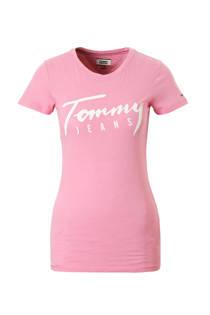 Tommy Jeans T-shirt met logo opdruk