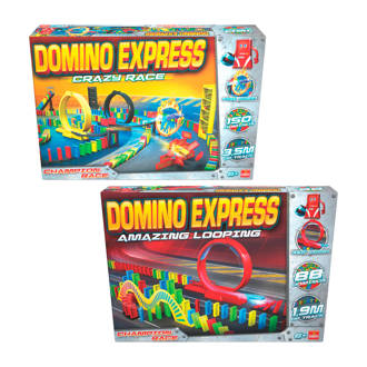 Domino Express amazing looping + Domino Express crazy race