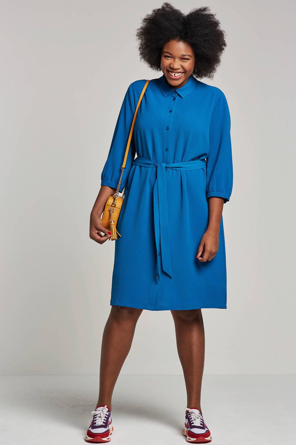 whkmp's great looks blousejurk, Kobaltblauw