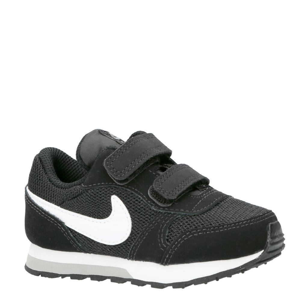 Nike   MD Runner 2 (TDV) sneakers zwart, Zwart/wit